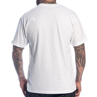 t-shirt men SULLEN - Burning Both Ends - WHT