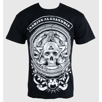 t-shirt metal men's Asking Alexandria - Passion - PLASTIC HEAD - PH8154