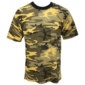 t-shirt camouflage - green