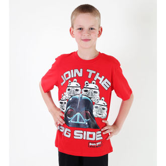 film t-shirt children's Angry Birds - Angry Birds / Star Wars - TV MANIA - SWAB 322