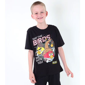 film t-shirt children's Angry Birds - Angry Birds / Star Wars - TV MANIA - SWAB 323