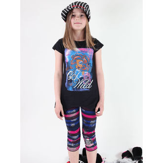 set girlish ( t-shirt, leggings) - Monster High - Black - MOH 540