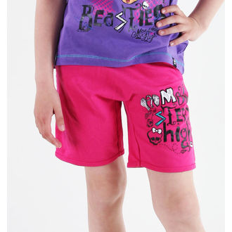 shorts girlish Monster High - Pink, TV MANIA, Monster High