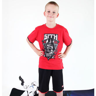 film t-shirt men's children's Star Wars - Star Wars Clone - TV MANIA - Red - Star 825