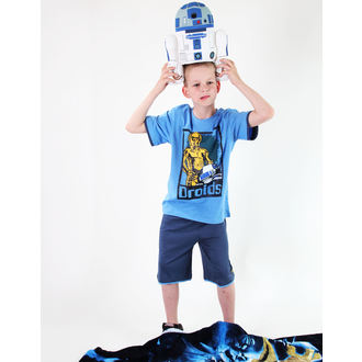 film t-shirt men's children's Star Wars - Star Wars Clone - TV MANIA - Blue - Star 827
