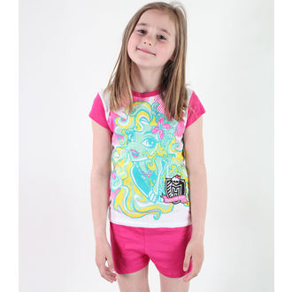 pajama girlish TV MANIA - Monster High - White / Pink - MOH 546