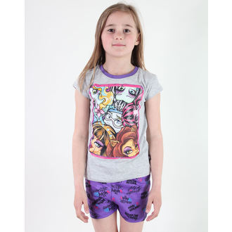 pajama girlish TV MANIA - Monster High -Grey - MOH 577