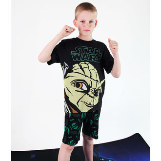 pajama boys TV MANIA - Star Wars - Black - CURTAINS 820