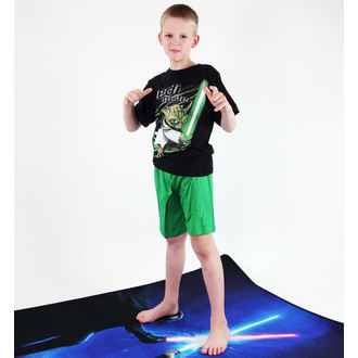 pajama boys TV MANIA - Star Wars Clone - Black - CURTAINS 823