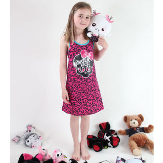 dress girlish TV MANIA Monster High - Pink - MOH 573