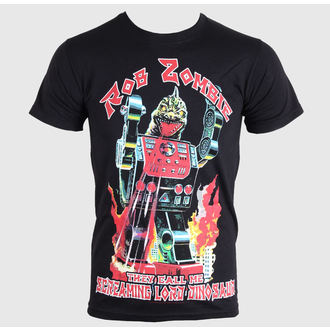 t-shirt metal men's Rob Zombie - Lord Dinosaur - ROCK OFF - RZTEE03MB