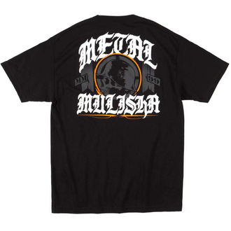 t-shirt street men's - MULISHA ELECT - METAL MULISHA - M245S18207.01_BLK