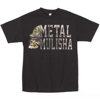 t-shirt street men's - LOCKUP - METAL MULISHA - M245S18239.01_BLK