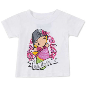 t-shirt street children's - CUPCAKE - METAL MULISHA - M14MS18125.01_WHT