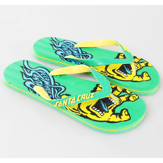flip-flops women's unisex - Screaming Speed - SANTA CRUZ - Green - MAFSP