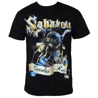 t-shirt metal men's Sabaton - Carolus Rex - CARTON - K_389