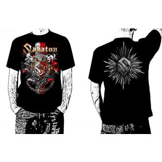 t-shirt men Sabaton -Swedisch Empire Live - Black - Carton