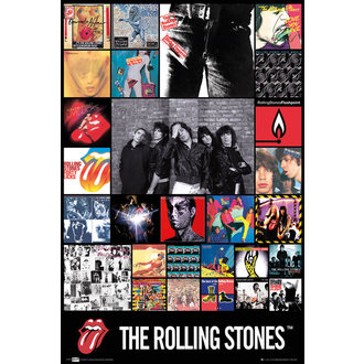 poster The Rolling Stones - Discography Maxi - LP1675