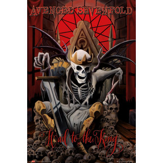 poster Avenged Sevenfold - Hail to the King (Bravado) - GB posters - LP1709