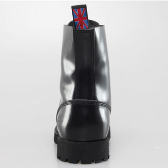 leather boots - NEVERMIND - 10108S_PolidoBlack