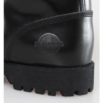 boots NEVERMIND - 8 eyelet - Black Polido - 10110S