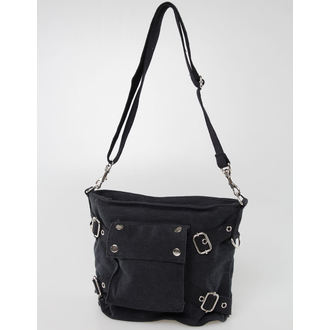 bag ROTHCO - VINTAGE CANVAS - BLACK - 8477