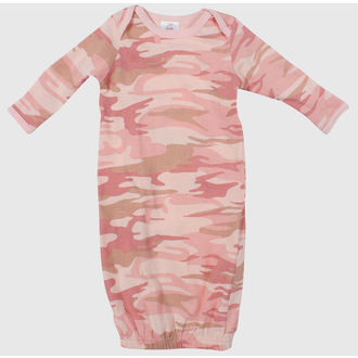 overall to sleep children ROTHCO - INFANT PC - PINK CAMO - 67159