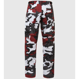 pants men ROTHCO - BDU PANT - RED CAMO