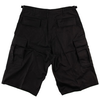shorts men ROTHCO - LONGER STYLE - BLACK - 7761