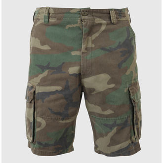 shorts men ROTHCO - VINTAGE PARATROOPER - WOODLAND - 2140