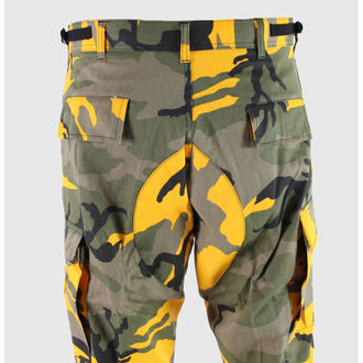 pants men ROTHCO - BDU STINGER - YELLOW CAMO - 8875