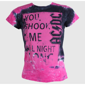 t-shirt metal women's unisex AC-DC - Shock Me Juniors - LIQUID BLUE - 13843