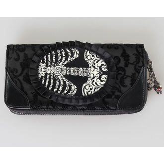 wallet BANNED - Ribcage Lace - Black - WBN1414BL