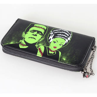 wallet BANNED - Frankenstein And Bride - WBN1401BL