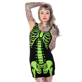 dress women (tunic) BANNED - Skeleton - Green - DBN522GRE