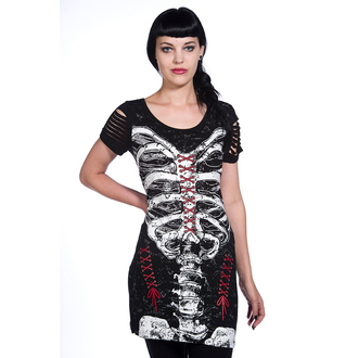 dress women (tunic) BANNED - Corset Skeleton - OBN121