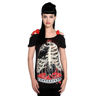 t-shirt women's unisex - Bird In Skeleton Cage - BANNED, BANNED