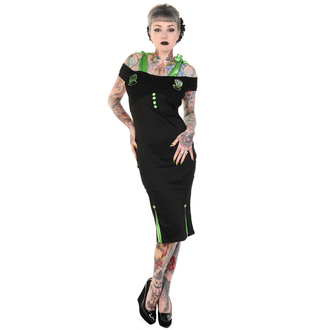dress women BANNED - Black Frankenstein and Bride Pencil - DBN584