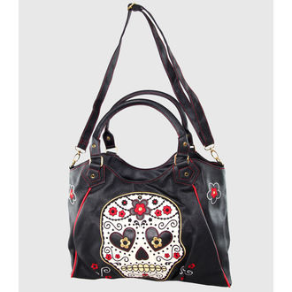 bag, handbag BANNED - Sugar Skull - Black - BBN748BLK