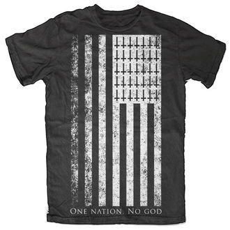 t-shirt men's - One Nation. No God - BLACK CRAFT - MT024ON
