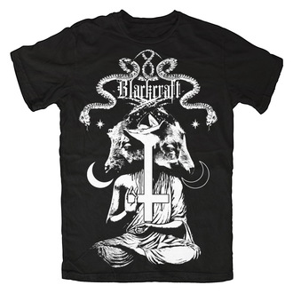 t-shirt men's women's unisex - Diabolical Goat - BLACK CRAFT - MT082DT