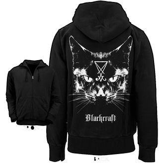 hoodie men BLACK CRAFT - Lucifer the Cat - Black - HS004LT