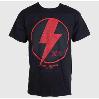 t-shirt metal men's women's unisex AC-DC - SYDNEY - LIVE NATION - PEACD068