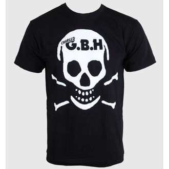 t-shirt metal men's G.B.H. - Skull - CARTON - K_508