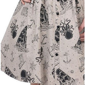 dress women SOURPUSS - Walk The Plank - Taupe - SPDR100