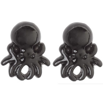 earrings SOURPUSS - Octopus - Black, SOURPUSS