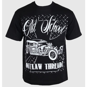 t-shirt men's - Old School - OUTLAW THREADZ - MT28