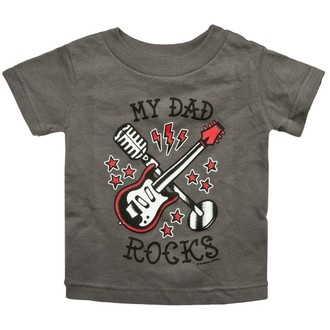 t-shirt metal children's - My Dad Rocks - SOURPUSS - SP17100