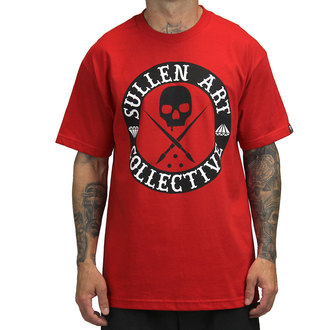 t-shirt hardcore - All Day - SULLEN - SCM0062_RDBK