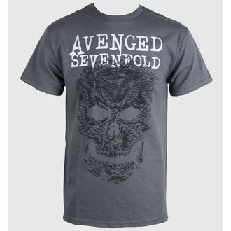t-shirt metal men's Avenged Sevenfold - Skull - BRAVADO - 17951352
